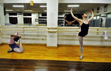 thiếu nữ, múa ballet