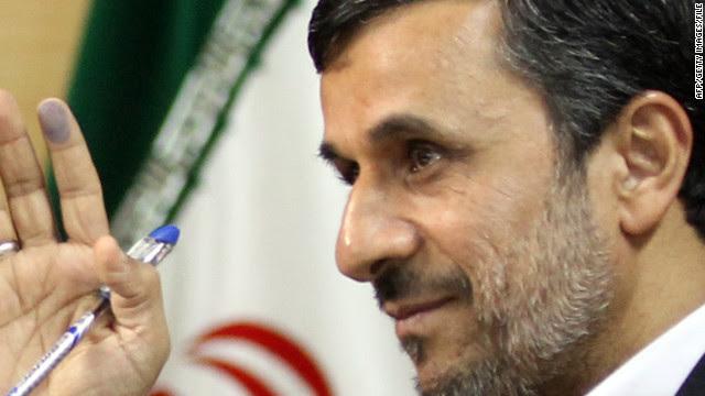 While seeming to tone down the rhetoric, Mahmoud Ahmadinejad nonetheless spoke of