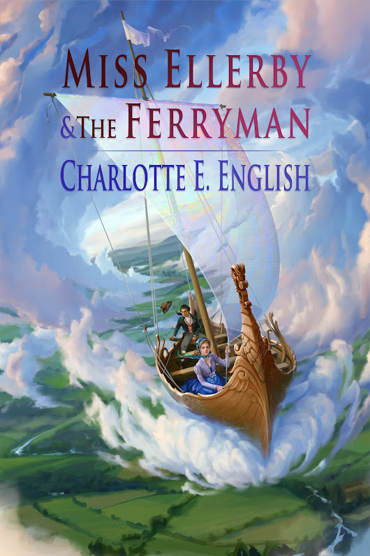 Cover Reveal: Miss Ellerby and the Ferryman - Charlotte E. English