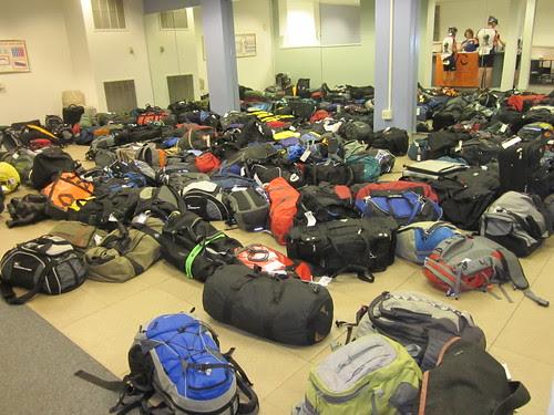 Waiting luggage in Bellingham