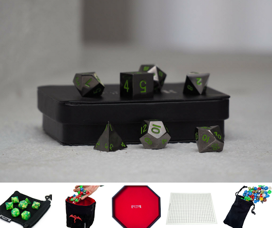 Win This Metal Dice + Table Top Gaming Pack - Value: $138
