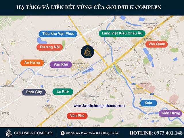vị trí goldsilk complex