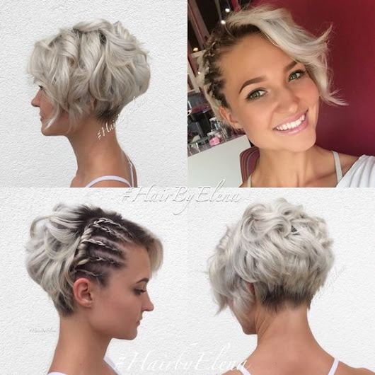 10 Messy Hairstyles for Short Hair - 2018 Short Hair Cut & Color Update
