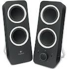 Logitech Z200 Computer Speakers - Pair - Black