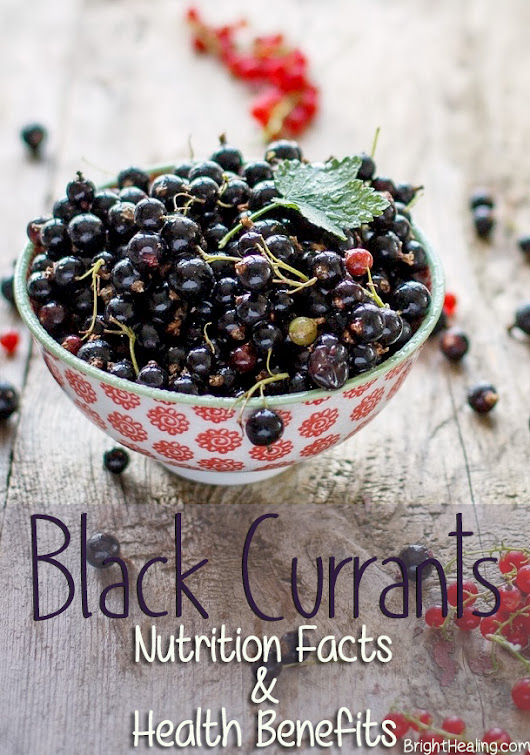 Black Currants Nutrition Facts and Health Benefits | BrightHealing.com