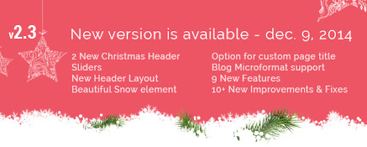 Kleo 2.3 - Snow effect,Two new Homepages, Microdata formats,Custom page & post title - SeventhQueen