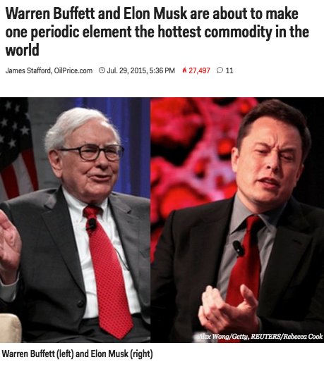 Warren Buffett & Elon Musk
