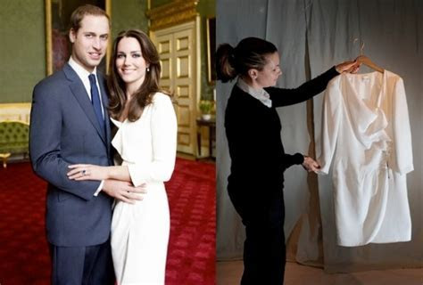 Kate Middleton's Engagement Dress Available To Buy Again