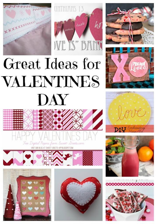 10+ great ideas for Valentines Day - Nap-time Creations