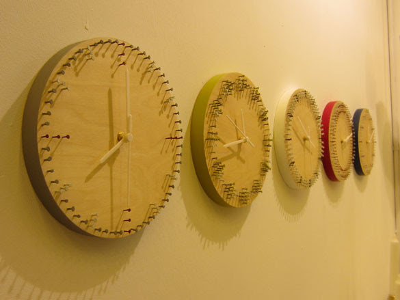 020 100% Design - Clocks by Nick Fraser