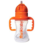 ThinkBaby Thinkster Straw Bottle 9 oz - Orange