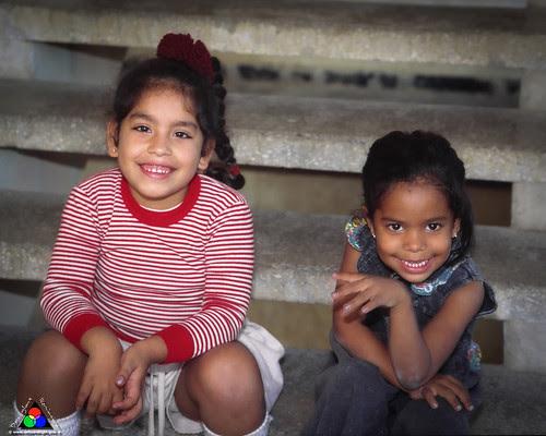 Little niñas - Alamar, Cuba by Douglas Remington - Ethereal Light® Photography
