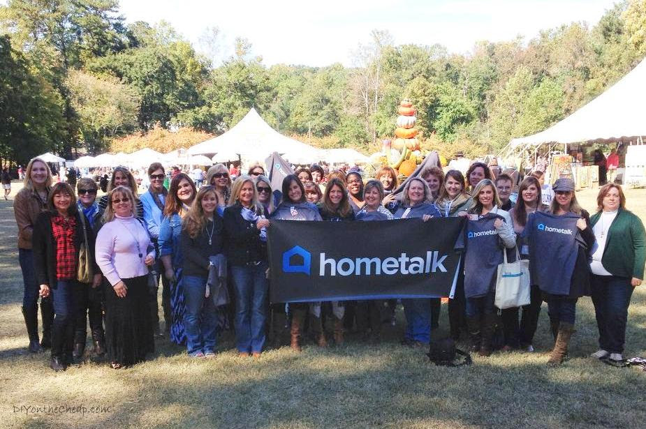 Hometalk Meetup at the Country Living Fair