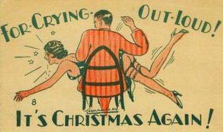 spank christmas