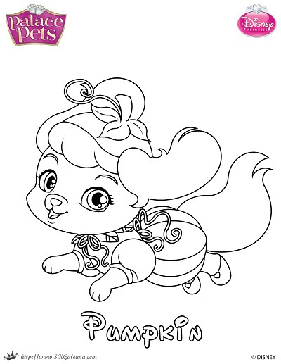 Free Printable Halloween Coloring Page feat. Pumpkin