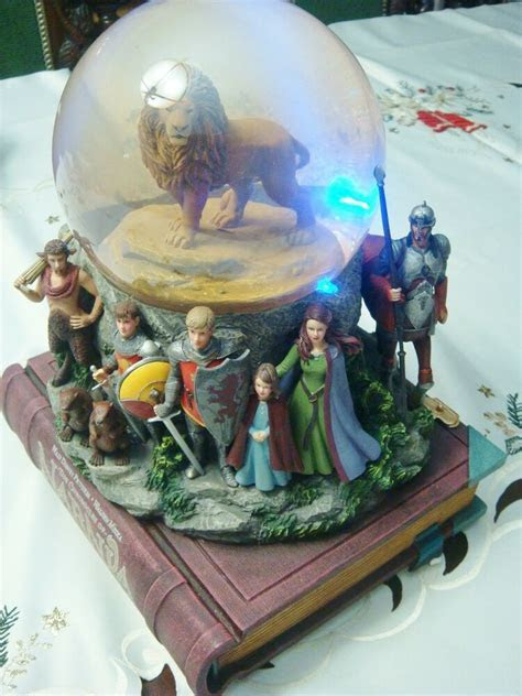 The Chronicles of Narnia Snow Globe by Disney, Musical box