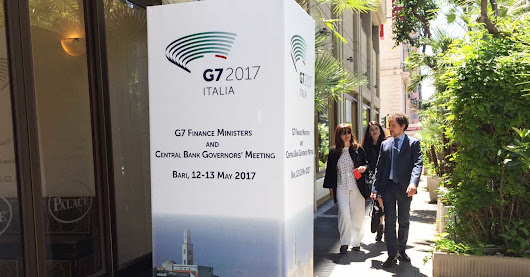 Trade discussion sidelined at G-7 meeting of finance ministers in Italy