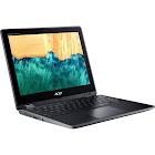 Acer Spin 512 R851TN-P4VW 12″ Convertible Chromebook - Pentium Silver N5000 1.1 GHz - 8 GB RAM - 64 GB SSD - Obsidian Black