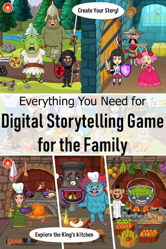 Fun Intereactive Roleplay Game for Creative Kids