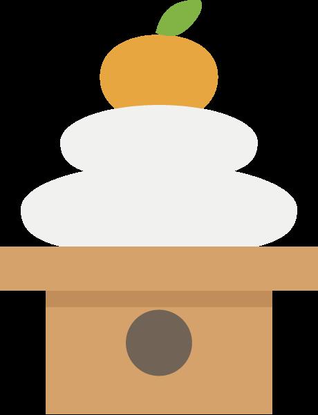 鏡餅のイラスト Ec Designデザイン