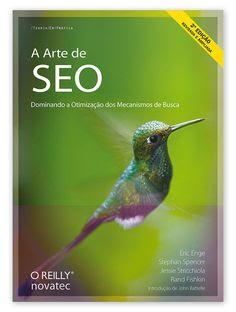 Capa do livro A Arte de SEO, usado para aprimorar a otimização de sites e serviços de SEO
