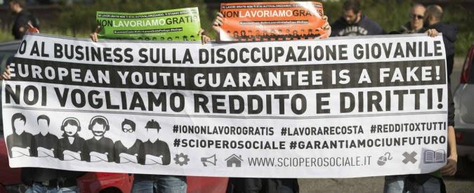 """Garanzia Giovani, dossier di Adapt a due anni dal lancio: """"Flop annunciato, 600mila persone rimaste a mani vuote"""""""