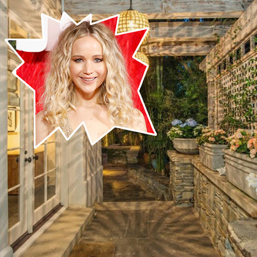 Jennifer Lawrence Buys Jessica Simpson's Beverly Hills Home - Lonny