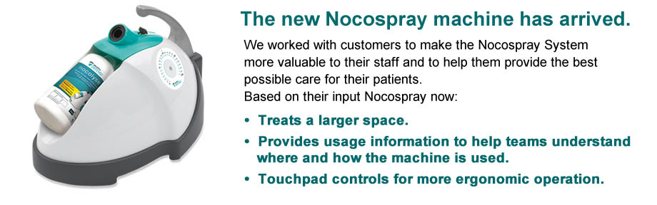 Nocospray Disinfection Simplified