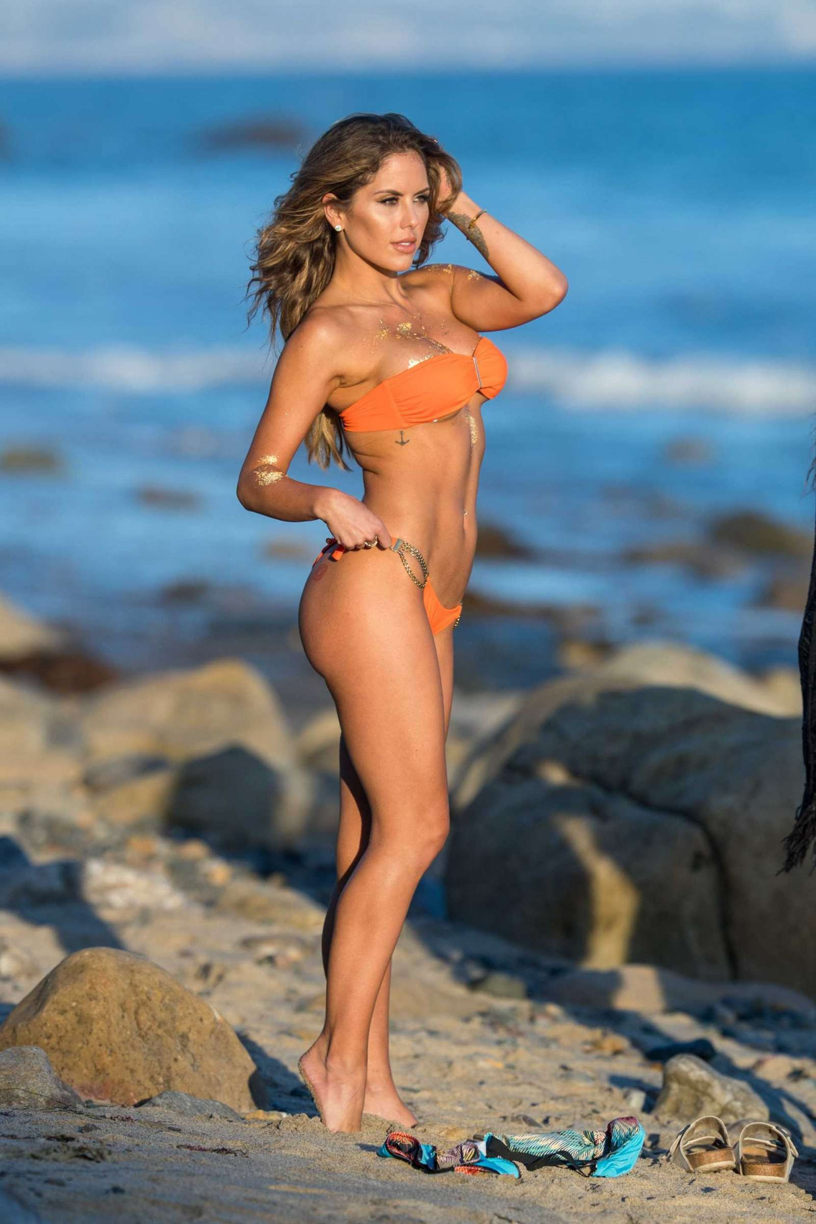 Brittney Palmer in Bikini – Fitness Gurls Photoshoot in Malibu