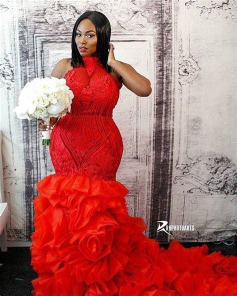 This Woman Rocked A Red Wedding Gown and It Is EVERYTHING
