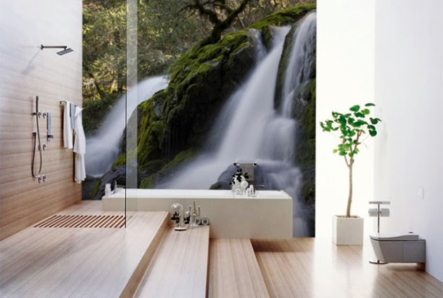 37 Amazing Bathroom Designs That Fused With Nature Daily Feed