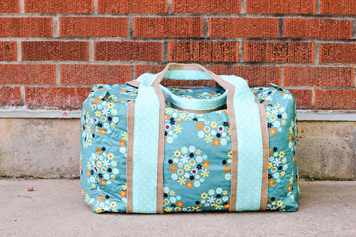 Nordika Duffle Bag by Jeni Baker