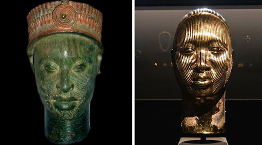 Hirst Stole Golden Heads From Nigeria - Art News Roundup - Agora Advice Blog