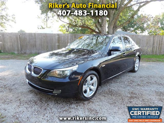 Used 2008 BMW 5-Series for Sale in Kissimmee  FL 34744 Riker's