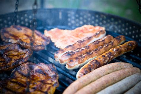stock photo  barbecue bbq cook