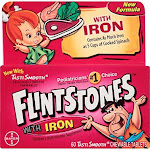 Bayer CORP/CONS Health Flintstones Chewable Multivitamins with Iron, 60 Count
