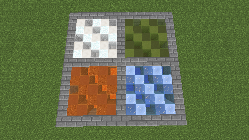 Minecraft Quartz Floor - Gambleh w