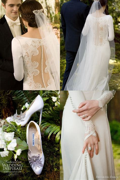 Bella Swan?s Wedding Dress   Carolina Herrera Resort 2012
