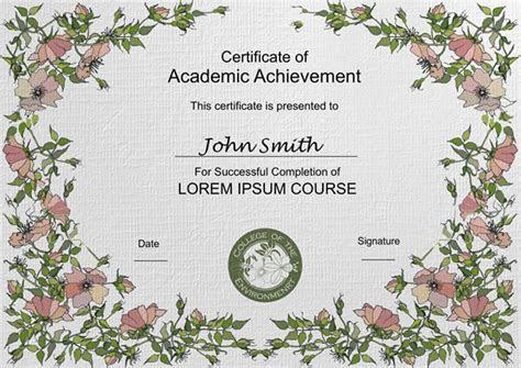 Certificates Templates & Sample ? Design Excellent