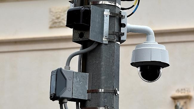Moreland has installed cameras - but none is operational.