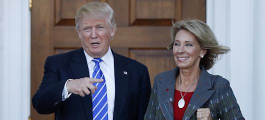 Betsy DeVos Questions if Schools Should Provide Students Free Lunch