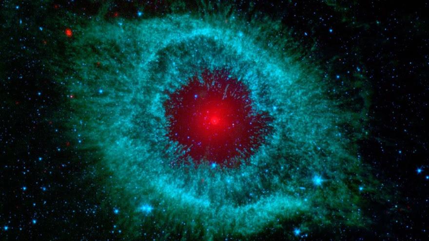 """Imágenes coloridas hechas telescopio espacial """"Spitzer"""" (15 fotos)"""