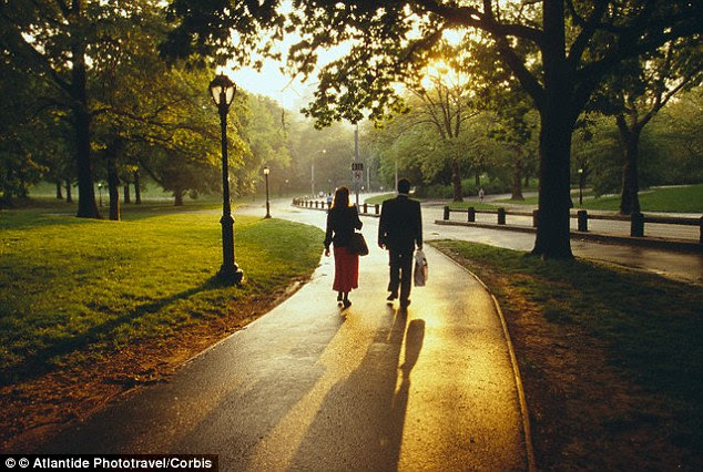 Walking can beat stress and boost mood, according to U.S. researchers. They found it was especially beneficial for people going through a tough time, like the death of a loved one or splitting up with a partner