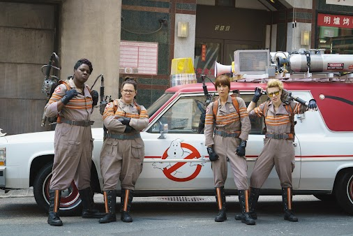 #Ghostbusters: scary goings-on with 1989 Cadillac and motorcycle featuring in film http://ind.pn/2a5335F...