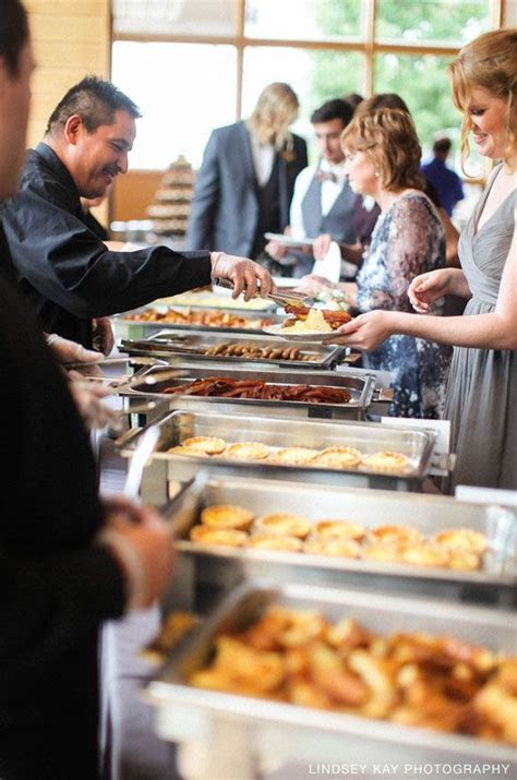 Tasty Catering Wedding Brunch Buffet at Danada House