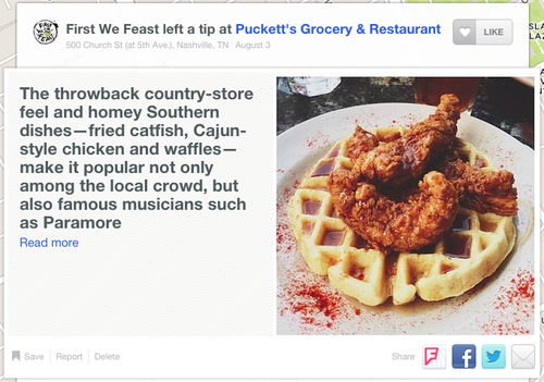 Follow Friday: Foodies rejoice! Follow Serious Eats and First We Feast on Foursquare.