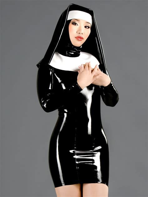 Nun Latex Maids Dresses Other dresses dressesss