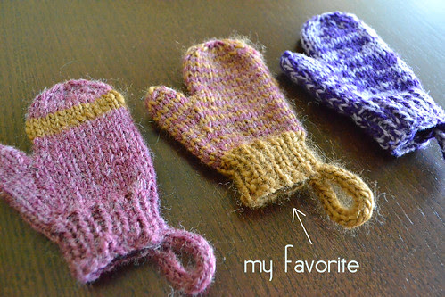 my favorite mittens from week 2