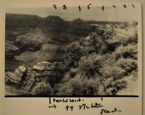 Grand Canyon Study #3, Arizona (Test Strips) by deneebarr