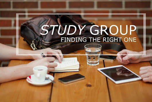 Study group: finding the right one